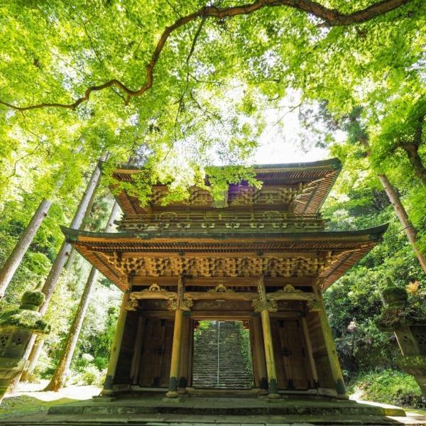 福岡の清水寺楼門