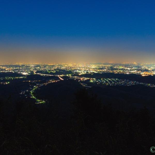 城跡からの夜景