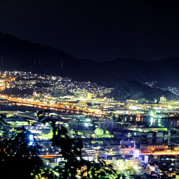 海田町の夜景