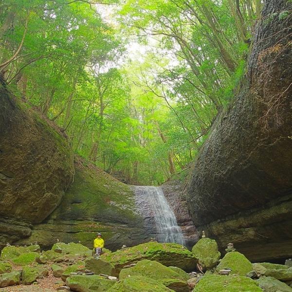滑川渓谷『奥の滝(竜の腹)』