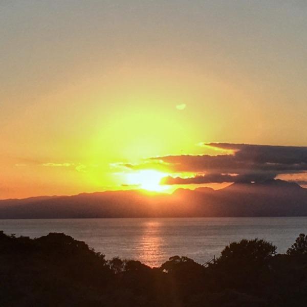 江の島からの夕暮れ
