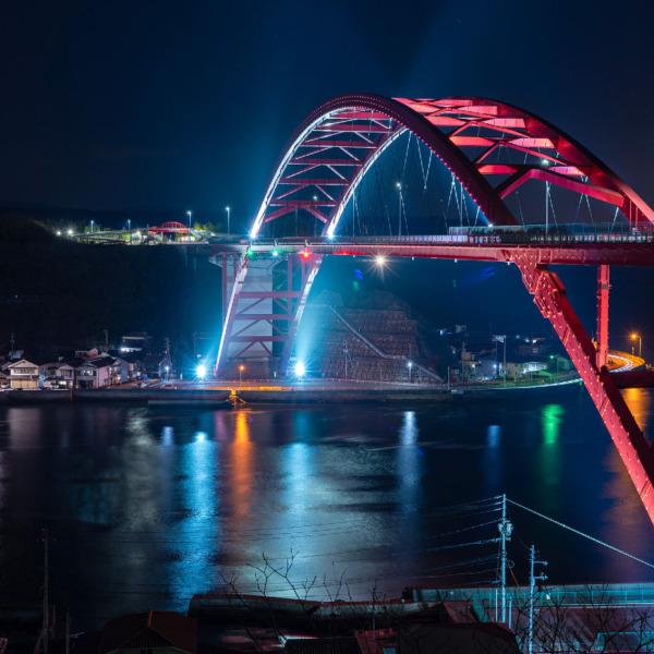 第二音戸大橋のライトアップ