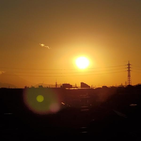 洛陽と富士山(2)