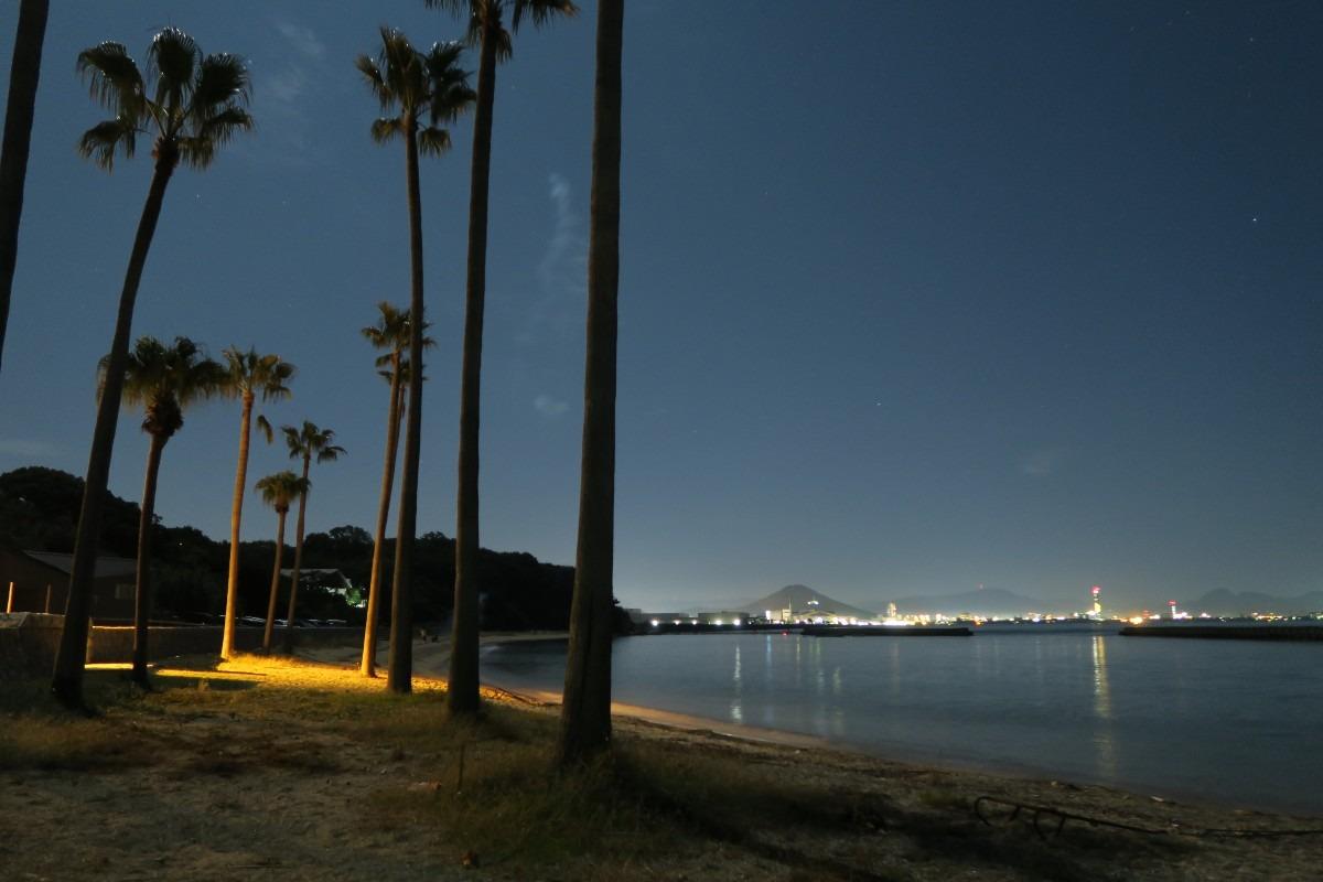 沙弥島からの眺め