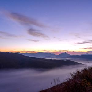 雲海の秋吉台