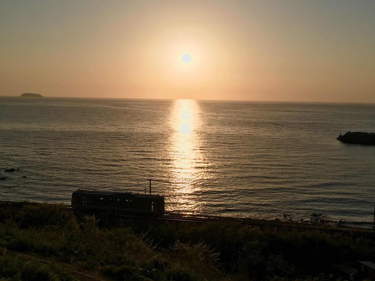 夕陽(山口県)