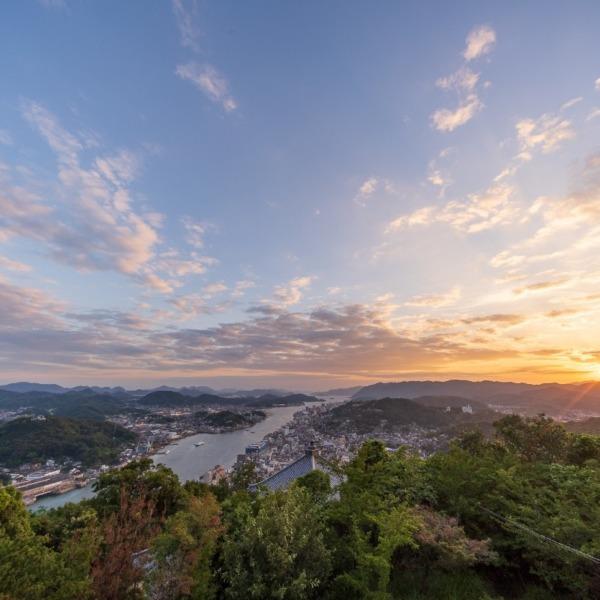浄土寺山展望台から見る尾道水道