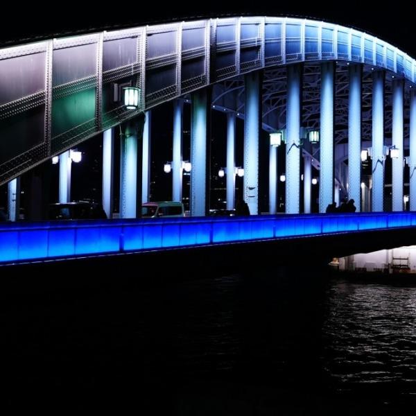 勝鬨橋夜景2020💖師走残り3日🆒