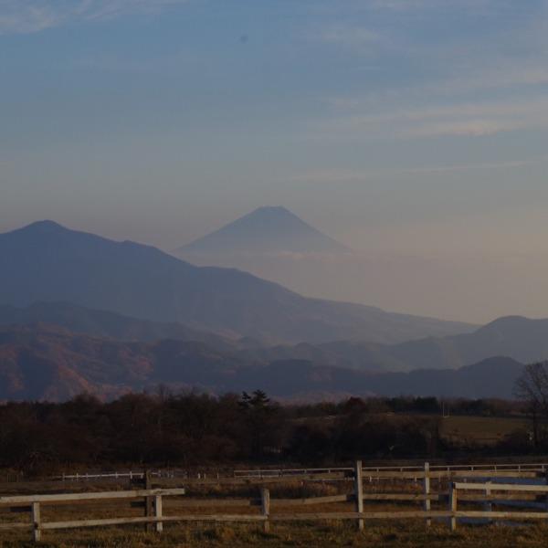 清里「清泉寮」から望む富士山