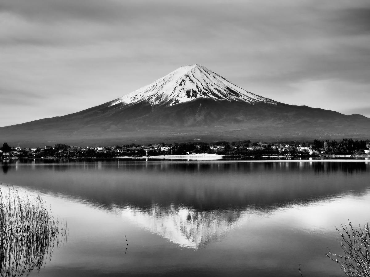 ドラマチックな富士山