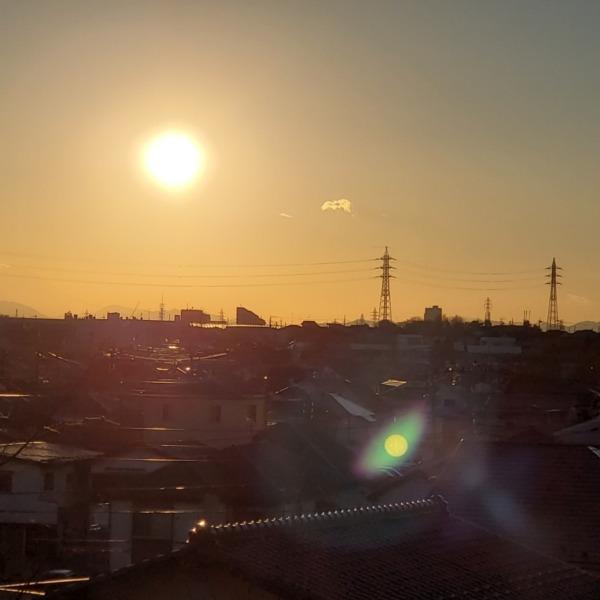 洛陽と富士山(1)