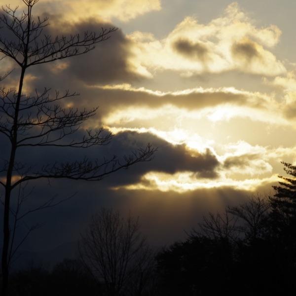「朝の風景」