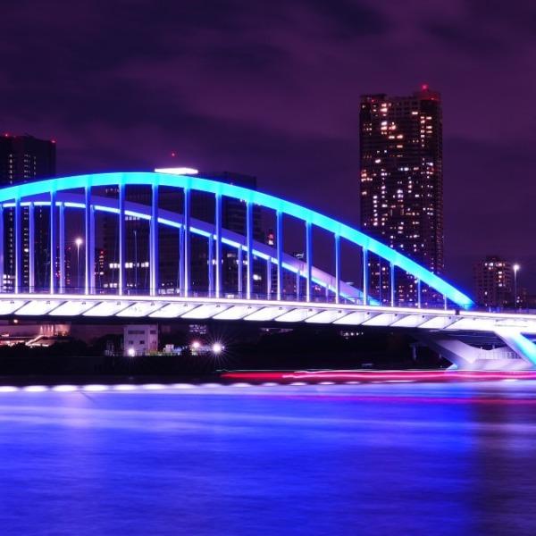 築地大橋🆒東京タワー🆒ダイヤモンドヴェール