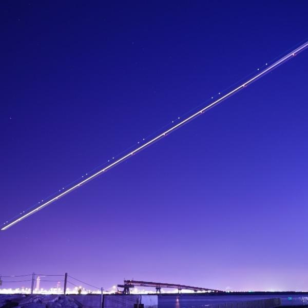 夜間飛行2020:希望の灯りを地上に✨