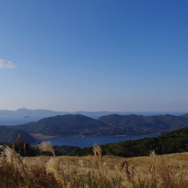 「川内峠から望む風景」