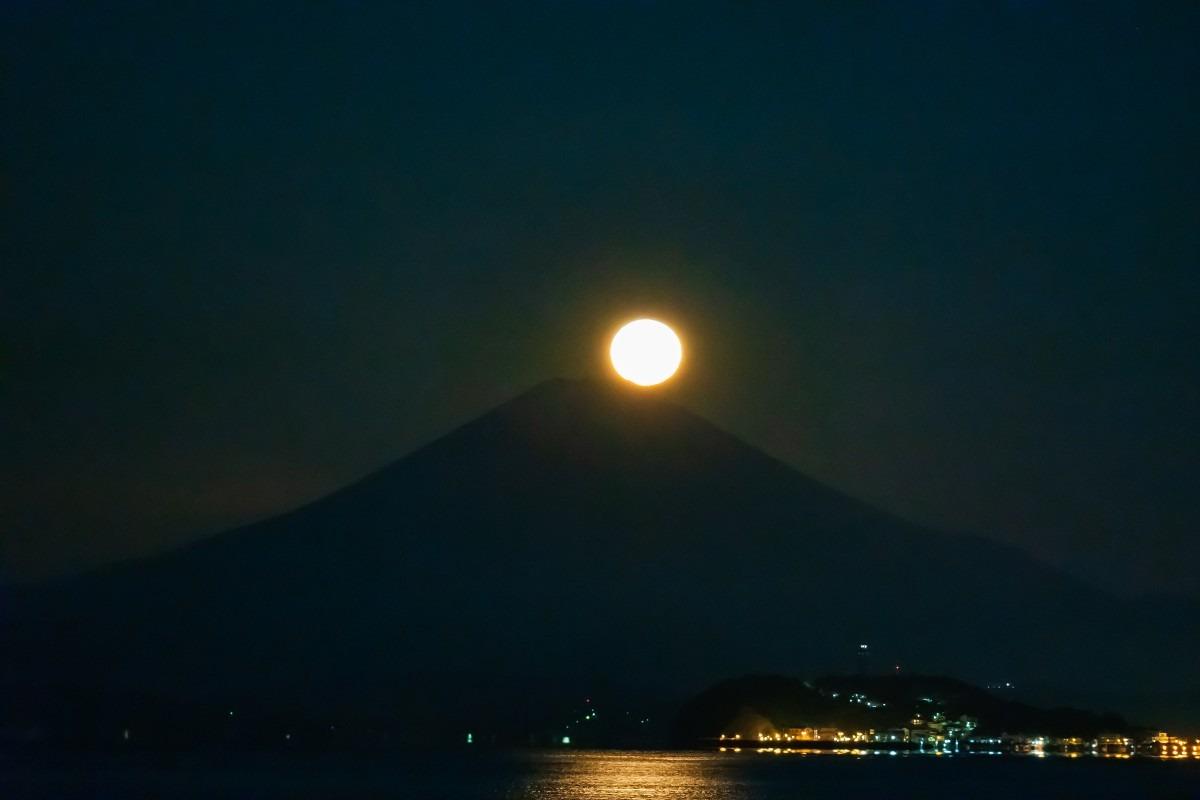 湘南からの降りるパール富士