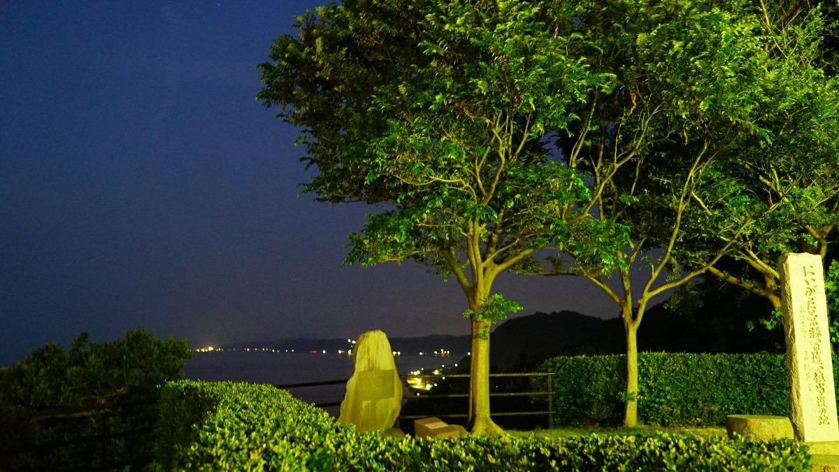 新潟景勝百選1位獲得地夜景:出雲崎町💖星空動画