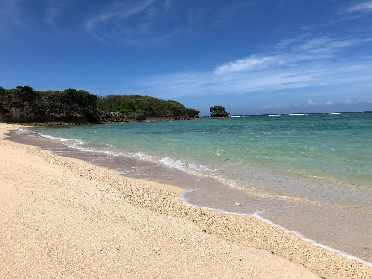 沖縄県読谷村儀間(ヨミタンソン・ギマ)の海