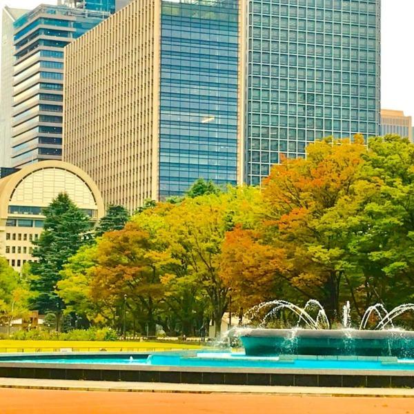 秋めく日比谷公園