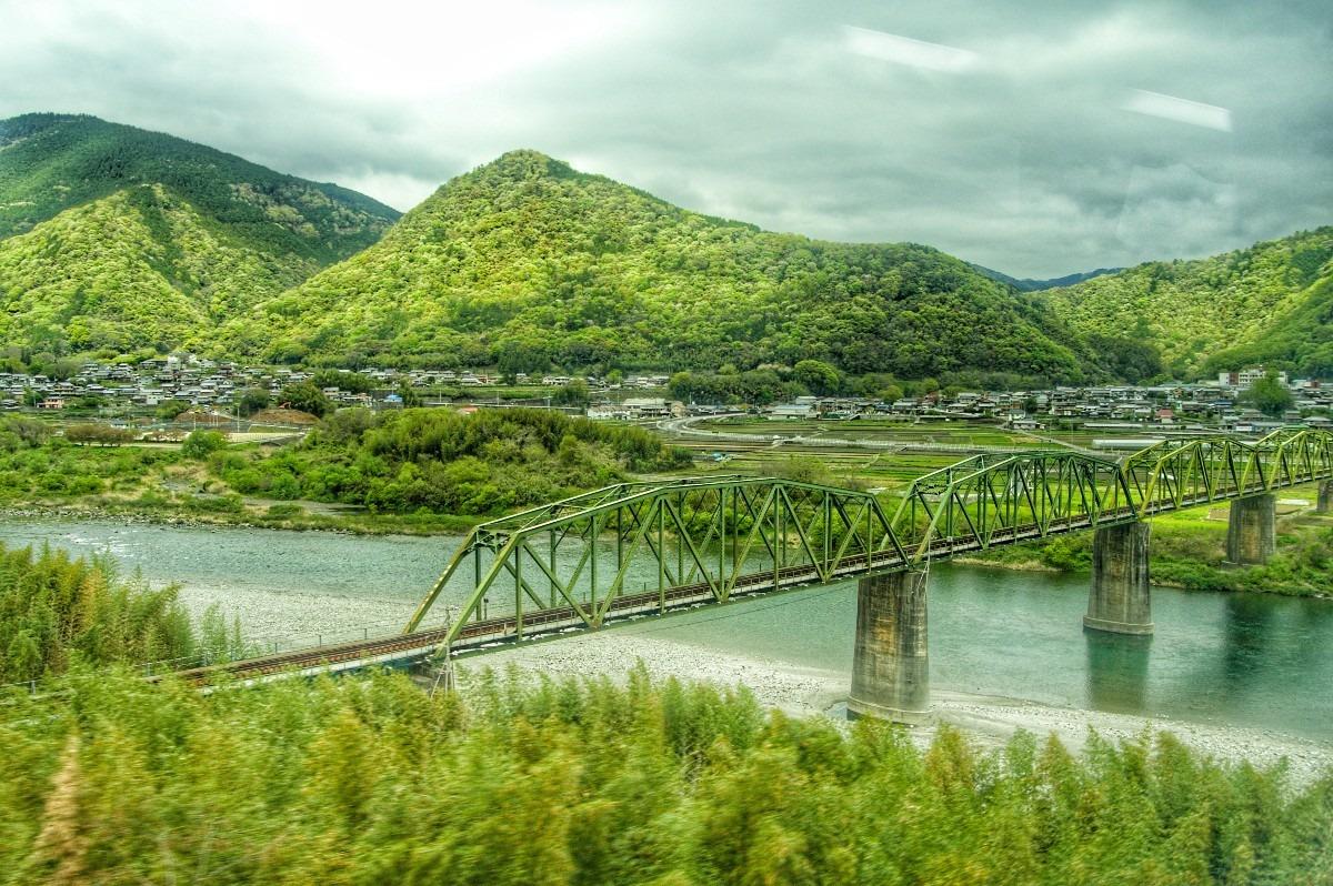 ―吉野川橋梁―