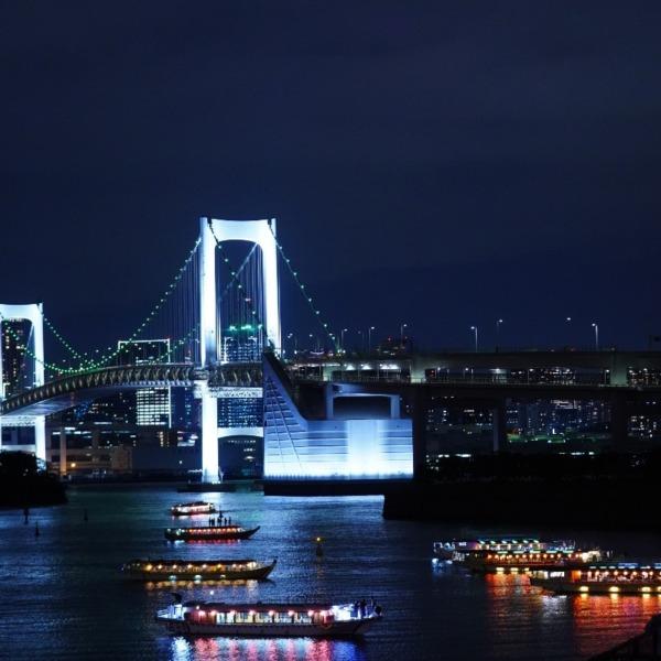 希望の灯り:🌈虹の橋🌈/東京タワーコラボ✨
