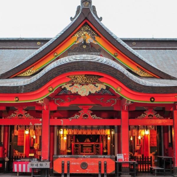 青島神社、本殿