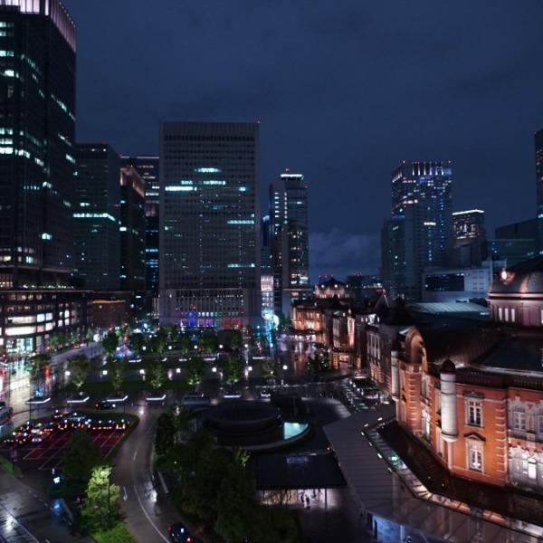 雨上がりの東京駅2019:コロナに負けないで✨