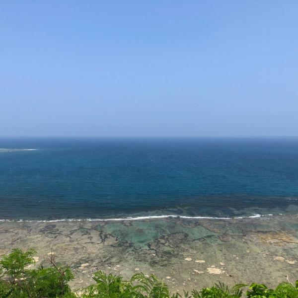 沖縄県南城市知念久手堅(ナンジョウシ・クデケン)の海