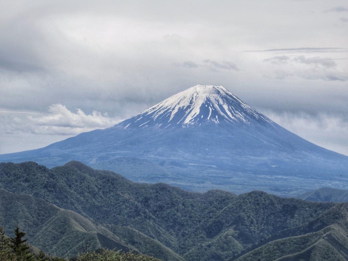 富士山 蛾ヶ岳山頂より