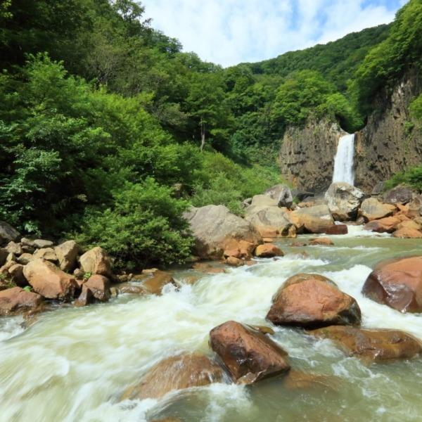 日本百名瀑 苗名滝