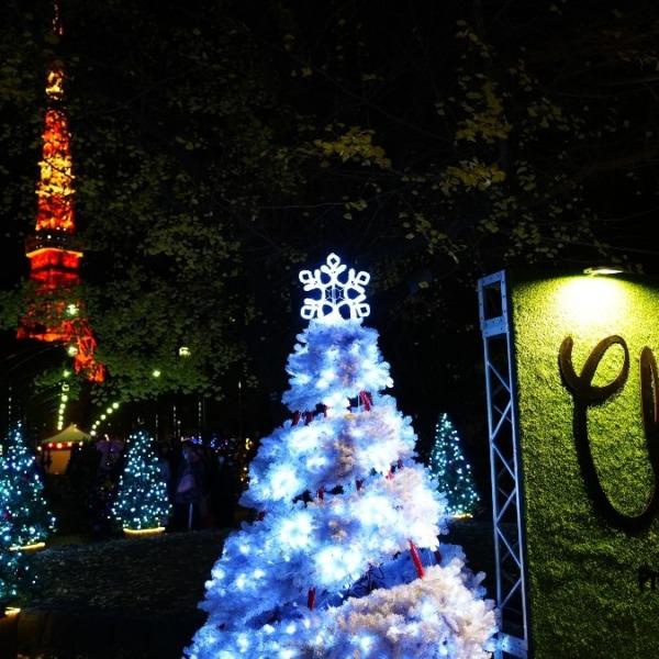 クリスマス・ガーデン:東京タワーコラボ🆒