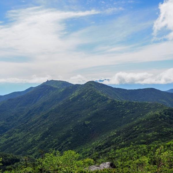 北奥千丈岳から見る金峰山