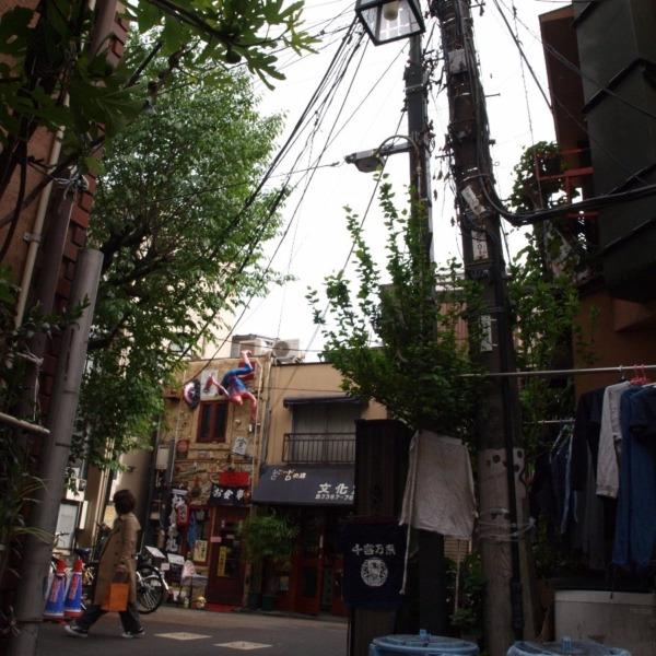 中野の街角