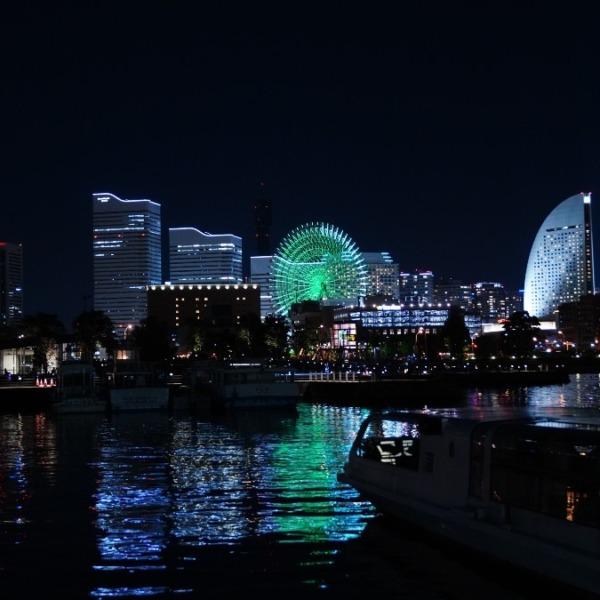 横浜夜景💖/希望の灯り✨エメラルドグリーン