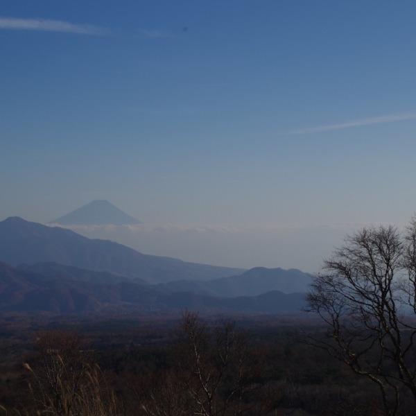 「美し森から望む富士山」