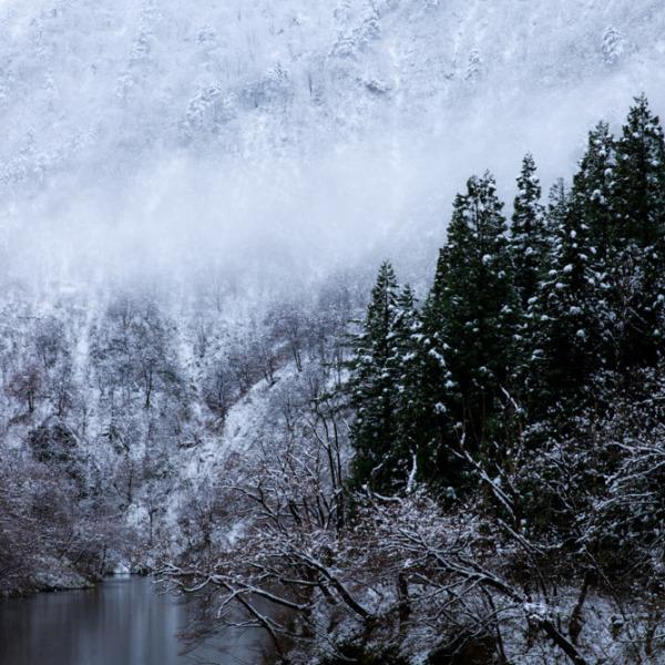 奥胎内冬景色