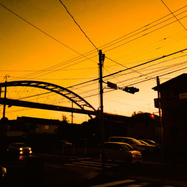 第二音戸大橋の夕焼け