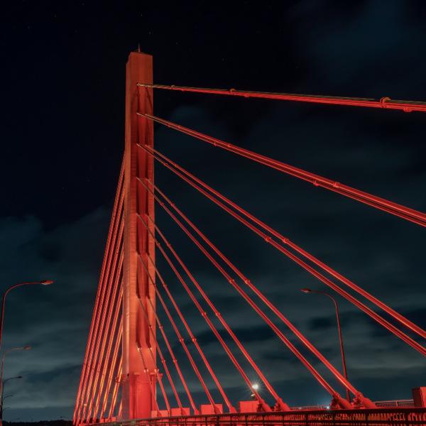海中道路 平安座海中大橋のライトアップ 2