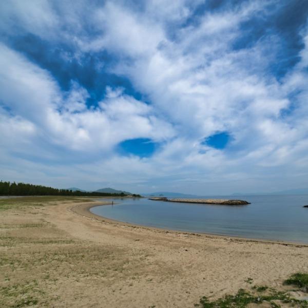 ーふるさと海岸(香川県東かがわ市)ー