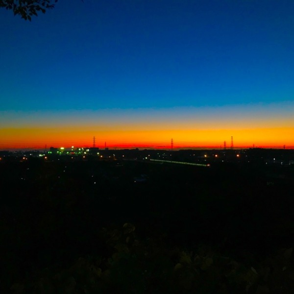 夜明け前を走る武蔵野線