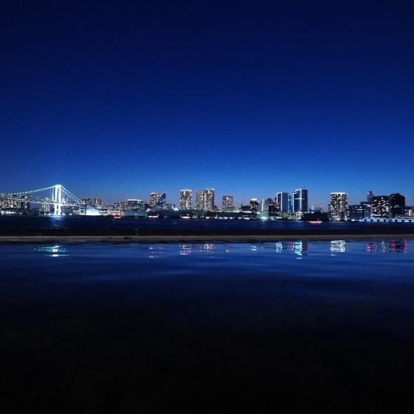 レインボーブリッジ夜景🆒東京タワーコラボ✨