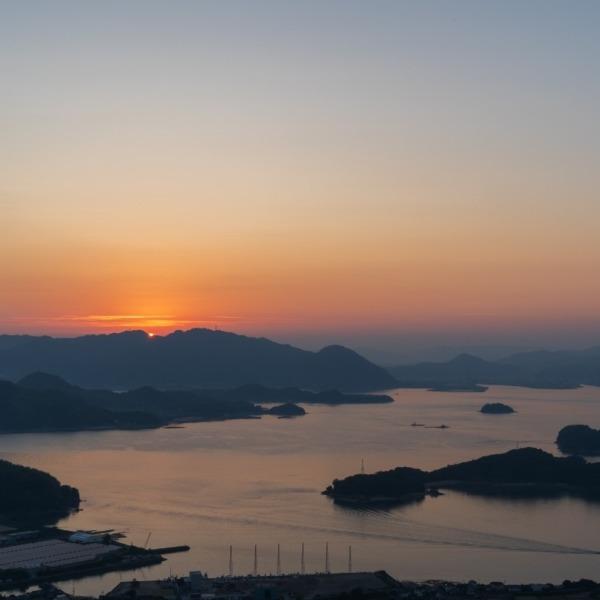 しまなみ海道 因島 白滝山展望台 3