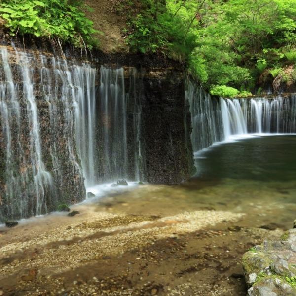 軽井沢 白糸の滝