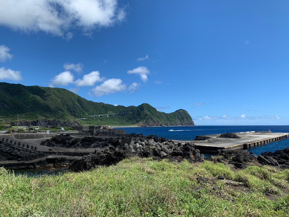 夏の八丈島の空と海がサイコーすぎ