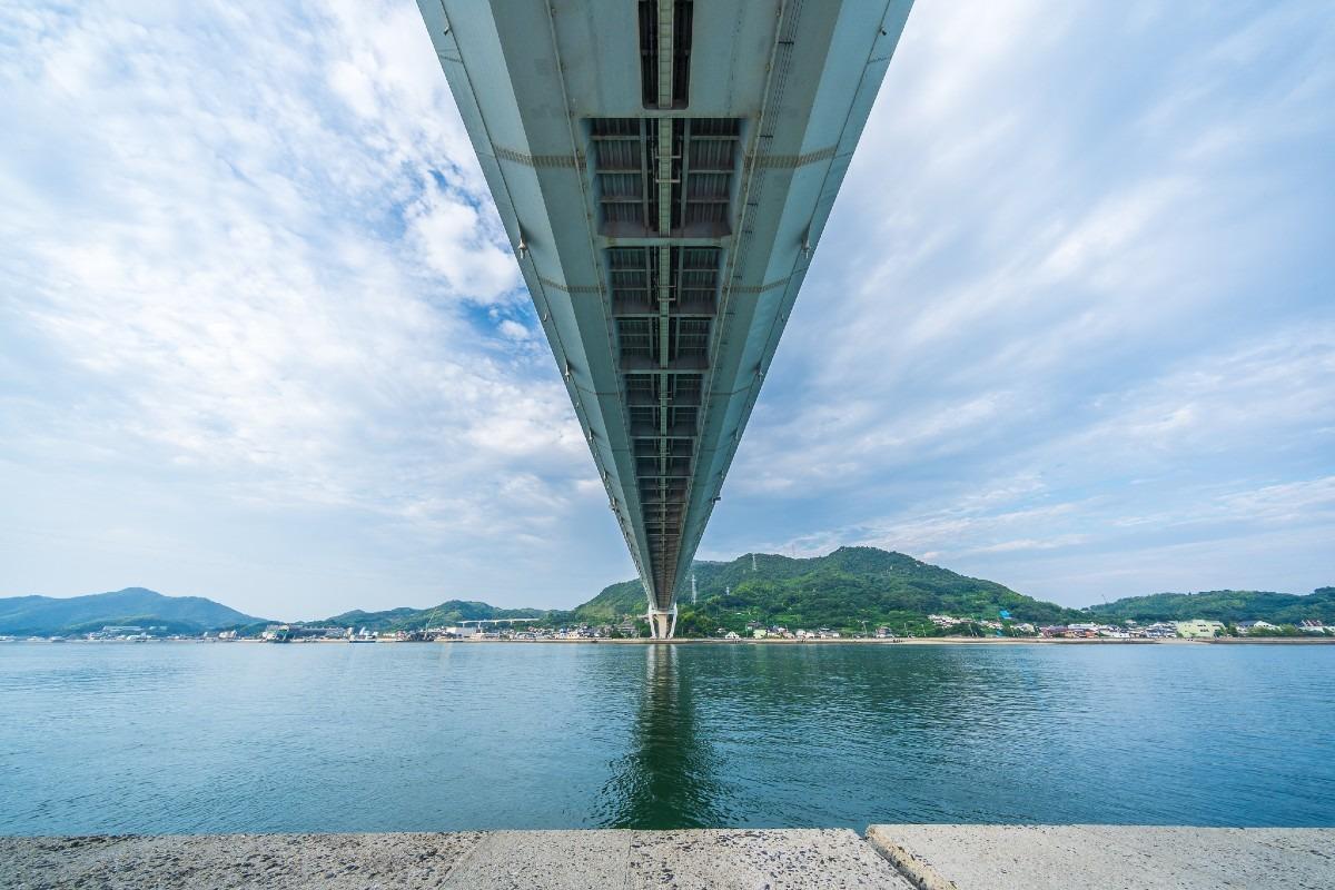しまなみ海道 生口橋 2 (広角10mm)