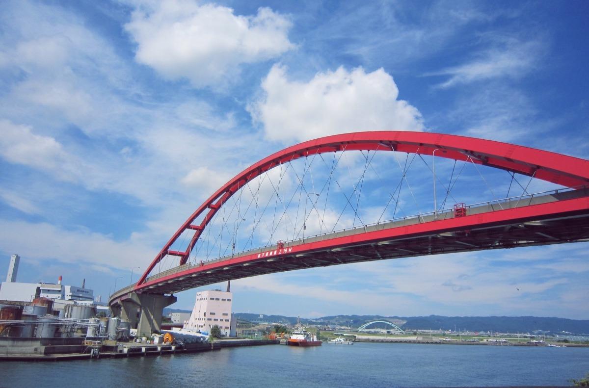 紀ノ川河口  青岸橋