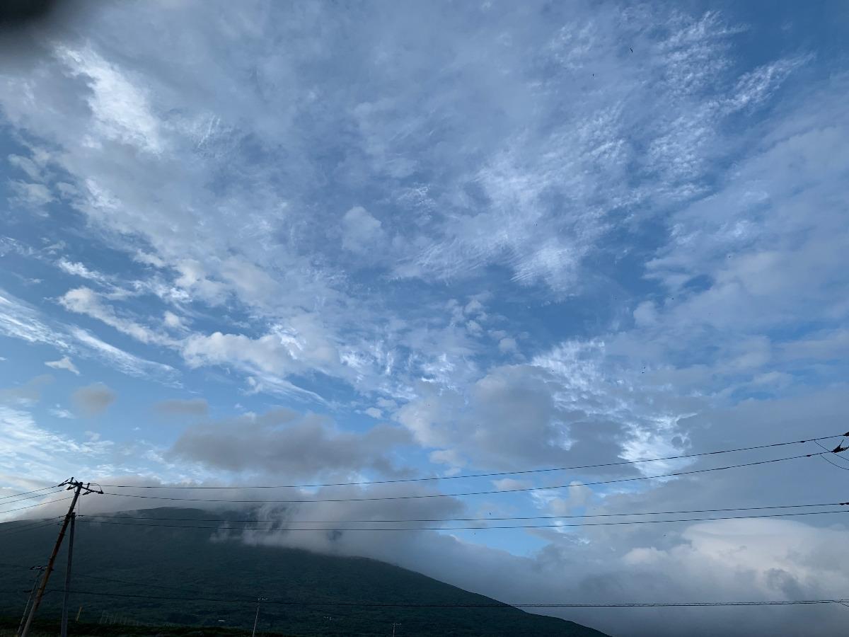 雲の連なり