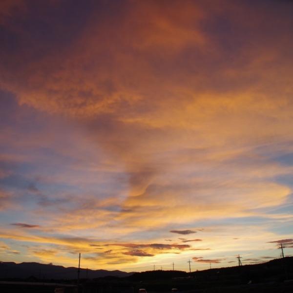 「夕焼け空」