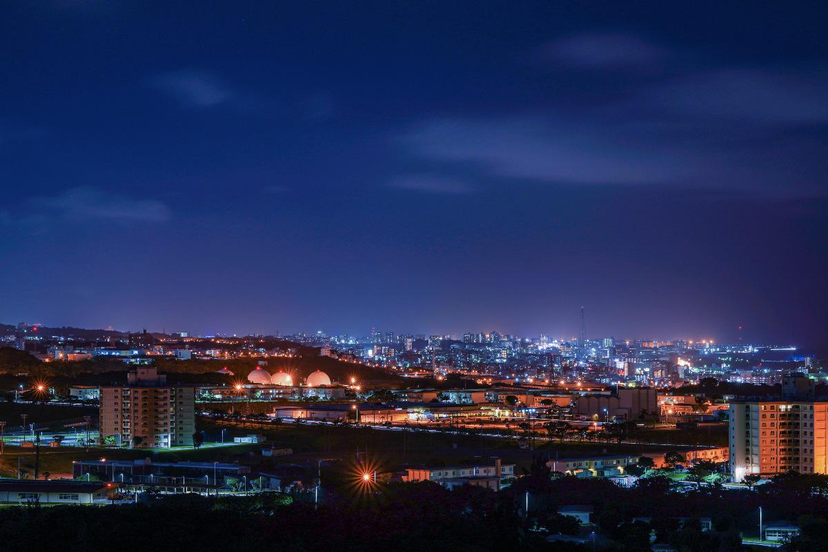 沖縄の夜景