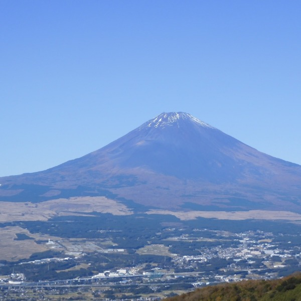 富士見ヶ丘公園からの富士山